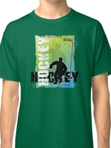 Abstract Hockey Classic T-Shirt