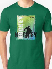 Abstract Hockey T-Shirt