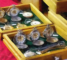 Vintage Pocket Watches For Sale by Susan Savad