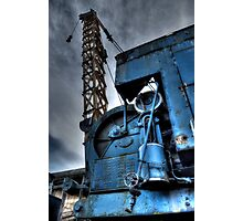 Tanfield Railway Crane Photographic Print