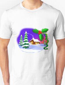 Christmas Idyll Unisex T-Shirt