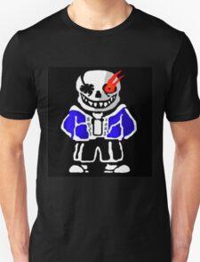 Undertale - Evil Sans Artwork (By Giullare) Unisex T-Shirt