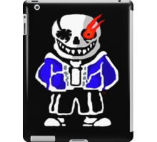 Undertale - Evil Sans Artwork (By Giullare) iPad Case/Skin