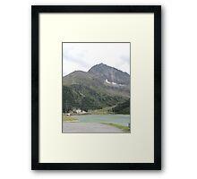 Mountain Lake, Austria Framed Print