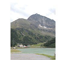 Mountain Lake, Austria Photographic Print