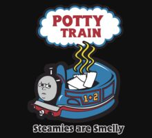 Potty Train: Steamies are Smelly! Kids Clothes