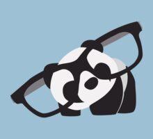 Hipster Panda by Christina Findeisen