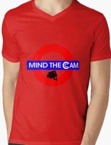 Mind the Cam Mens V-Neck T-Shirt