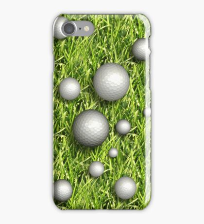 iPhone Case Golfballs iPhone Case/Skin