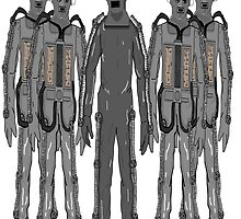 The Second Cybermen (Tomb Cybermen) by Scatmanjon