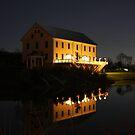 Muhlhauser Barn 1881 - West Chester Ohio by Tony Wilder