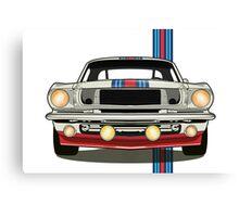 Martini Mustang Canvas Print