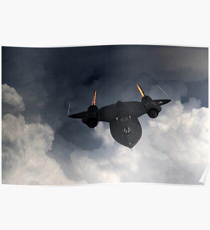SR-71 Blackbird Poster