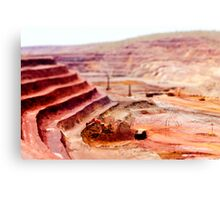Mining Toys Canvas Print
