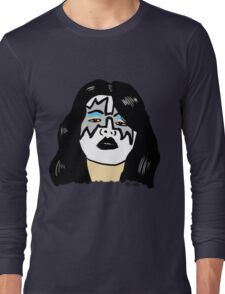 Ace Frehley Portrait  Long Sleeve T-Shirt