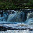 Aysgarth Waterfall, Yorkshire UK by Gordon Holmes