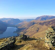 Buttermere from Fleetwith Pike by Helz