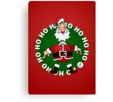 Santa Claus: Ho Ho Ho Canvas Print