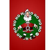 Santa Claus: Ho Ho Ho Photographic Print