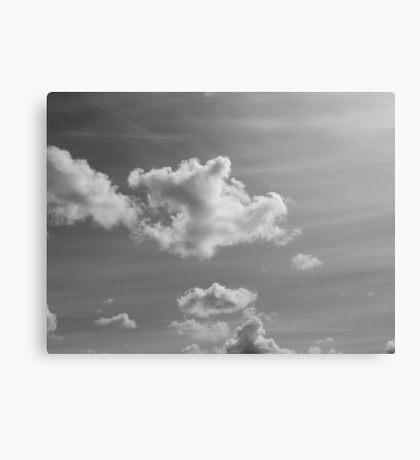 Capital Clouds Canvas Print