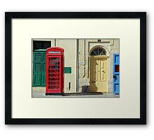 Malta 23 Framed Print