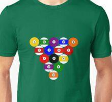 Eight-ball Rack Unisex T-Shirt