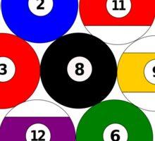 Eight-ball Rack Sticker