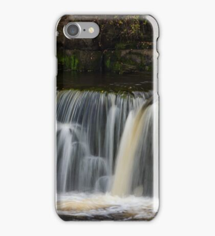 Richmond Waterfalls, Yorkshire, UK iPhone Case/Skin