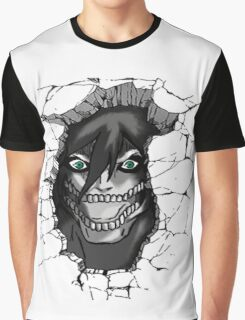 Shingeki no Kyojin: Break the Wall Graphic T-Shirt