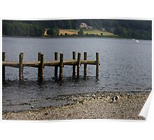Coniston Water Lake District Poster