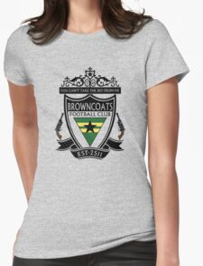 Browncoats Football Club Womens Fitted T-Shirt