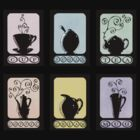 Hot Beverage Silhouettes by Amy-Elyse Neer