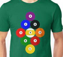 Nine-Ball Rack Unisex T-Shirt