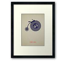 Penny Vinyl (poster) Framed Print