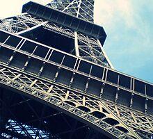 Eiffel Tower iPhone Case by sane-as-luna