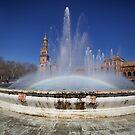 Plaza de Espana - Sevilla Spain by mattnnat