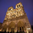 Notre Dame - Paris France by mattnnat