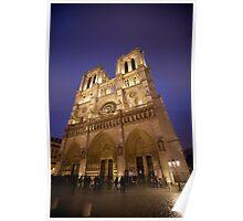 Notre Dame - Paris France Poster