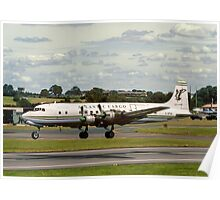 Douglas DC-6A Liftmaster G-APSA Poster