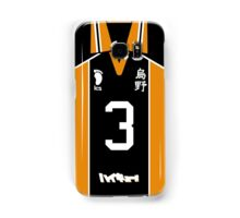 HAIKYUU!! ASAHI AZUMANE JERSEY PHONE CASE KARASUNO ANIME SAMSUNG GALAXY + IPHONE Samsung Galaxy Case/Skin