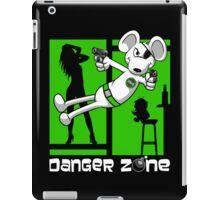 Danger Zone - green iPad Case/Skin