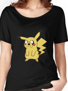 jake pikachu Women's Relaxed Fit T-Shirt