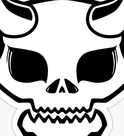 Boney Oni Sticker