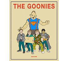 The Goonies - Beige Photographic Print