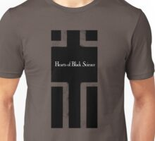 Hearts of Black Science Blocks Logo Unisex T-Shirt