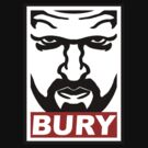 Triple H BURY (Obey Parody Shirt) by wemarkout