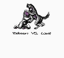 Baboon Vs, Wolf Unisex T-Shirt