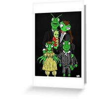 Refrigerator Door Series 6 (With Daphne) Greeting Card