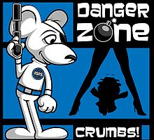 Danger Zone - blue by SwanStarDesigns