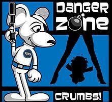 Danger Zone - blue by SwanStarDesigns